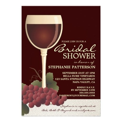 209 Best Images About Red Wine Glasses Wedding Invitations