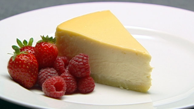 donna hays classic baked cheescake