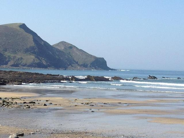 One of my favourite British beaches, Crackington Haven on the North Cornish coast and only 40 minutes from my own front door :)