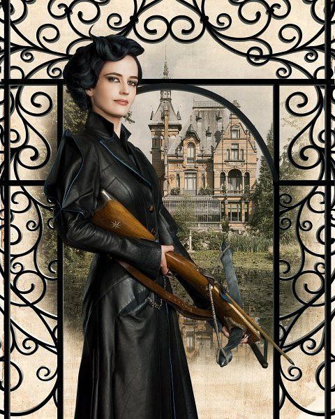 """Eva Green as Miss Peregrine Today """"Miss Peregrine's Home For Peculiar Children"""" is released on DVD!"""