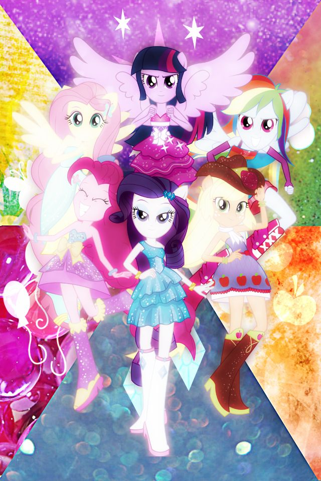 Equestria+Girls!+by+xRandomGurl.deviantart.com+on+@DeviantArt