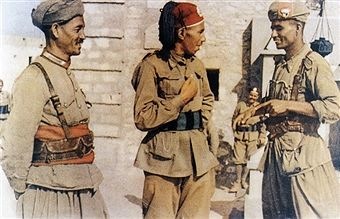 North African Campaign- Colonial Carabinieri. The Royal Corps of Colonial Troops (Italian: Regio Corpo Truppe Coloniali) was a corps of the Italian armed forces, in which all the Italian colonial troops were grouped until the end of World War II. Pin by Paolo Marzioli