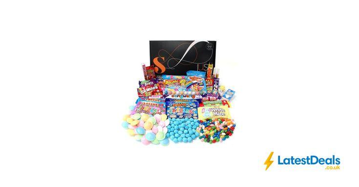 Retro Sweets Hamper: Just Treats Solar Gift Hamper Free Delivery, £20.46 at Amazon