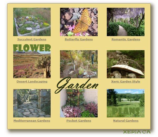 Flower Garden Plans - ideas & inspiration for your flowering paradise