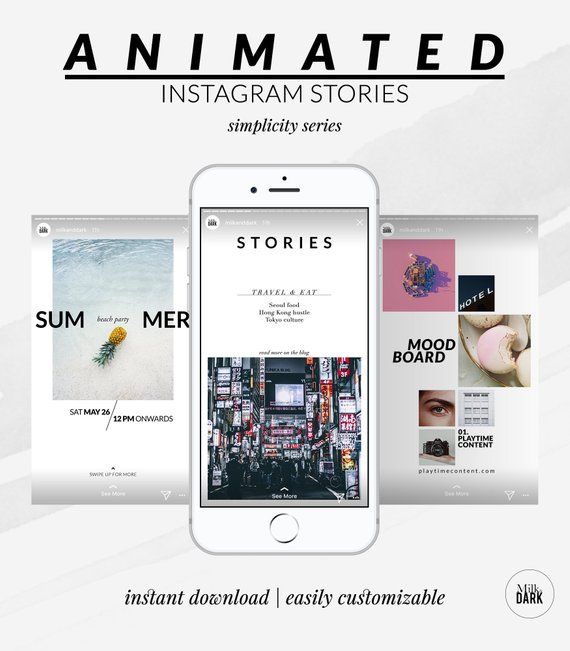 Animated Instagram Story Template Social Media Template Instagram Template For Blogger Photograph Instagram Story Template Story Template Instagram Template