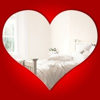 Love Heart Mirror