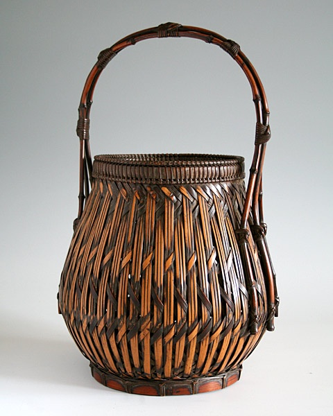 Basket Weaving With Bamboo : Best traditional japanese bamboo baskets images on