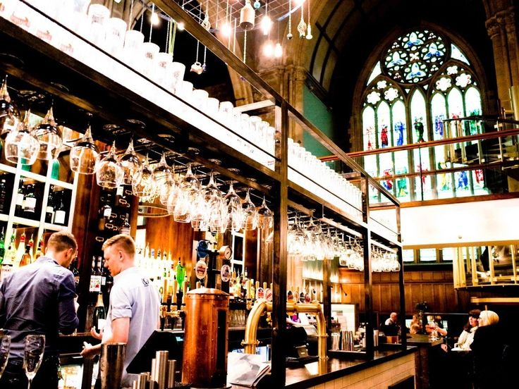 Inside a Church – Pitcher & Piano in Nottingham, England Restaurants In The Greatest Of Settings • BoredBug