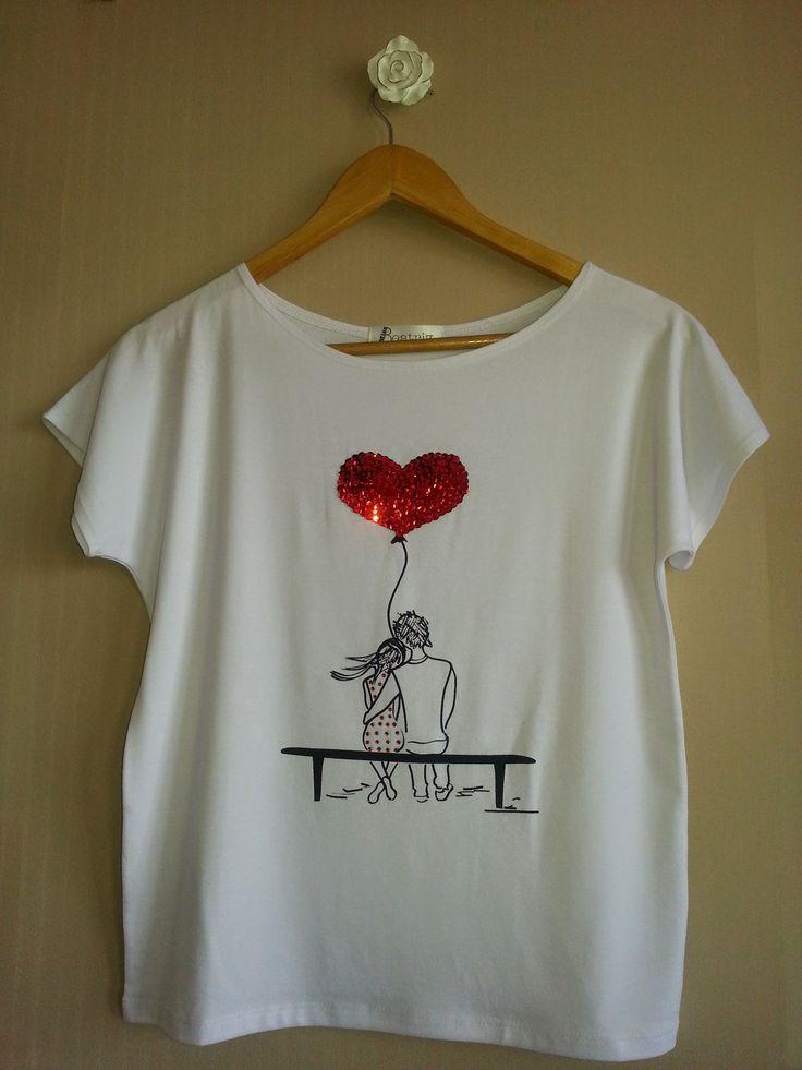 Camiseta Miss In Love - www.missbeatriz.com.br