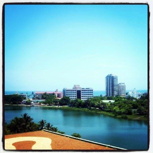 Vista de Cartagena desde el Hotel Hilton