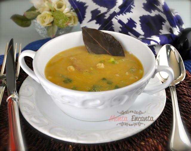 Sopa Creme de Grão de Bico | Monta Encanta
