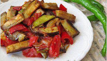 Patlıcanlı Etsiz Fırın Yemeği