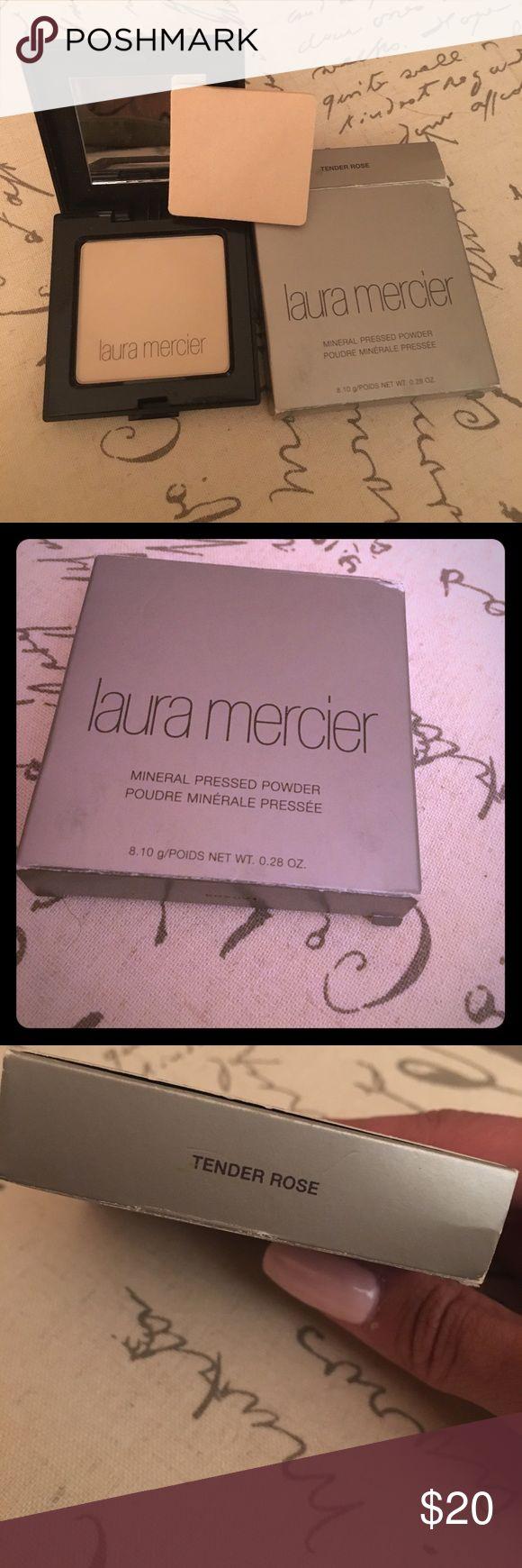 Laura Mercier powder foundation- Tender Rose Brand new in box, Laura Mercier Tender Rose foundation powder compact Laura Mercier Makeup Face Powder