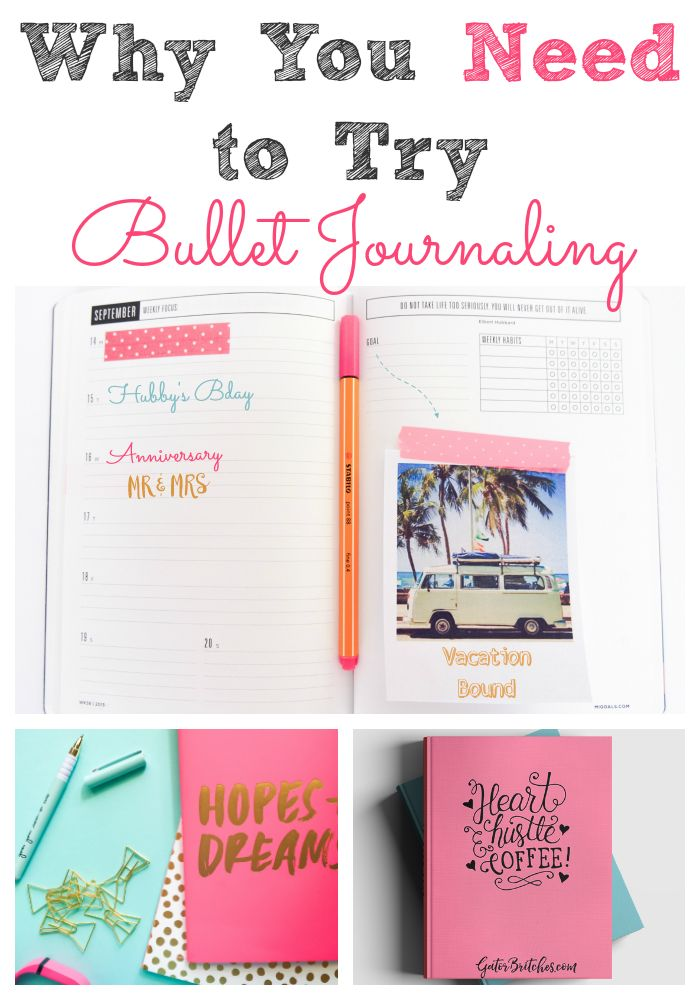 Why You Need to Try Bullet Journaling - great getting started post!