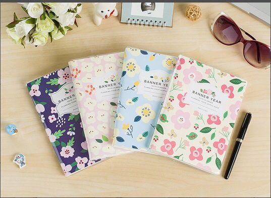 Nuevo mini bolsillo de la historieta papelería estudiante lindo a6 organizador planificador nota de la nota del plan mensual notebook en Libretas de Escuela y Oficina en AliExpress.com   Alibaba Group