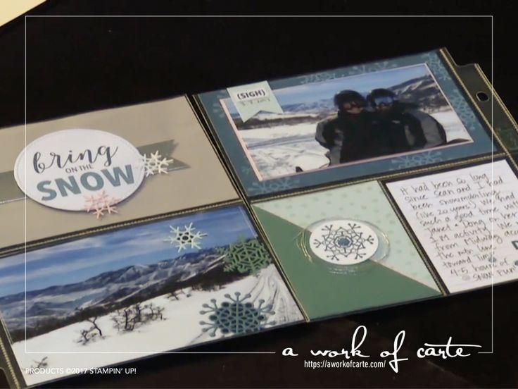 First Look at Color Theory Memories & More Cards for New Scrapbooking and Memory Keeping System by Stampin' Up