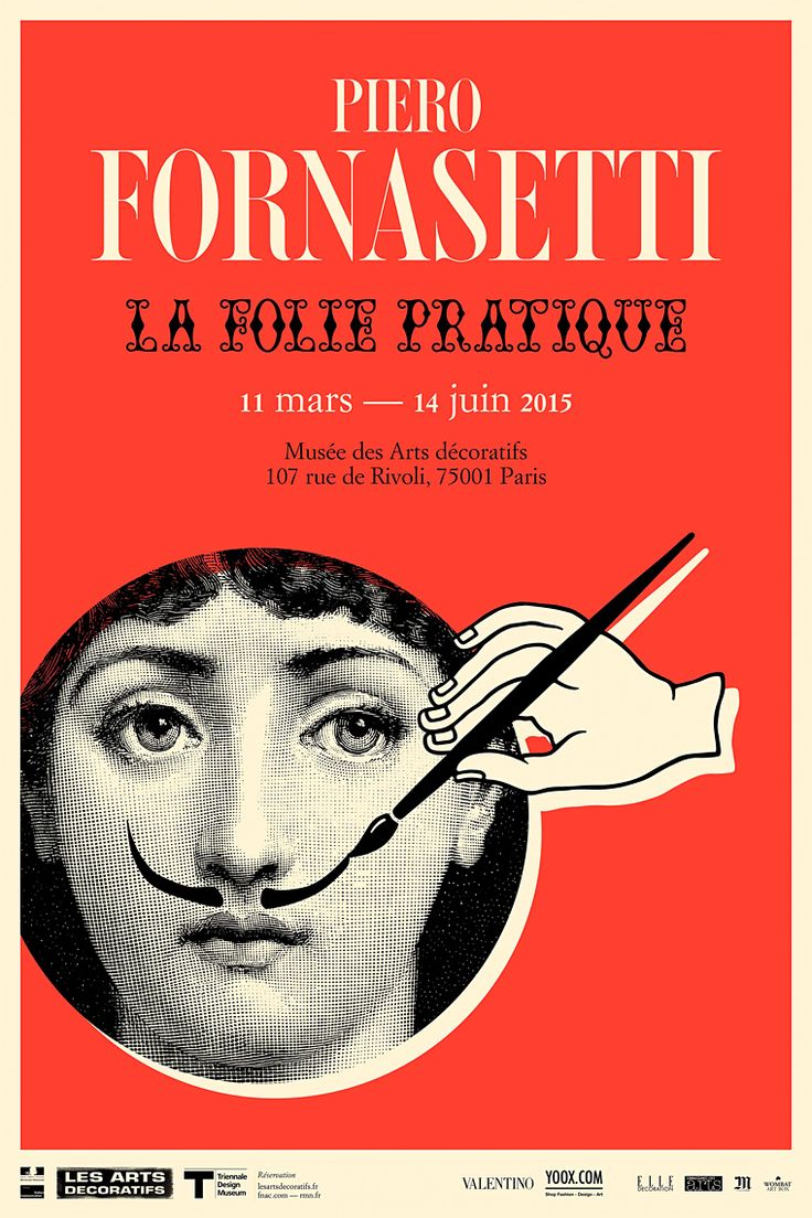 Posters Koket : 1000+ images about Sioges Piero Fornasetti on Pinterest  Painted