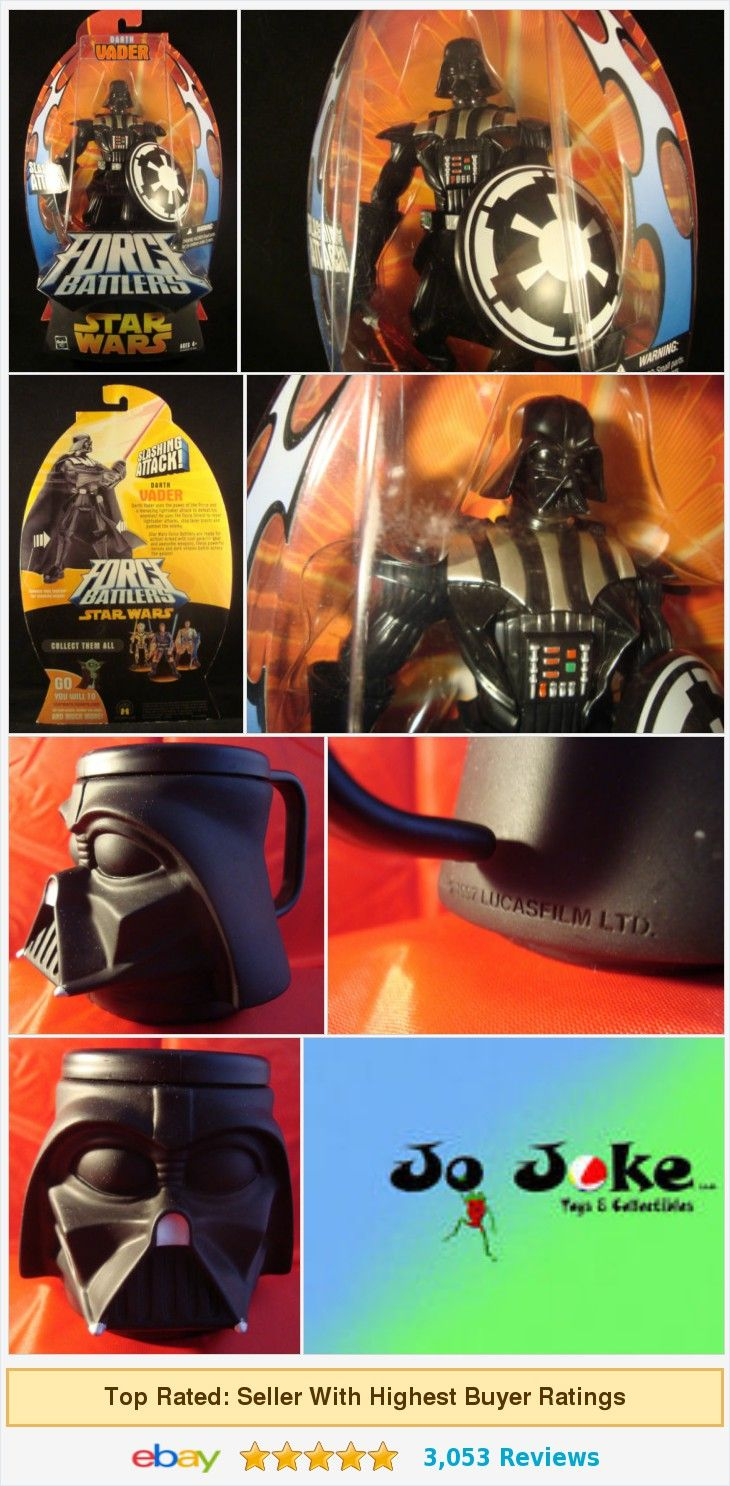 STAR WARS DARTH VADER ACTION FIGURE FORCE BATTLERS AND CHARACTER CUP-2005-HASBRO   eBay https://www.ebay.com/itm/381473993671
