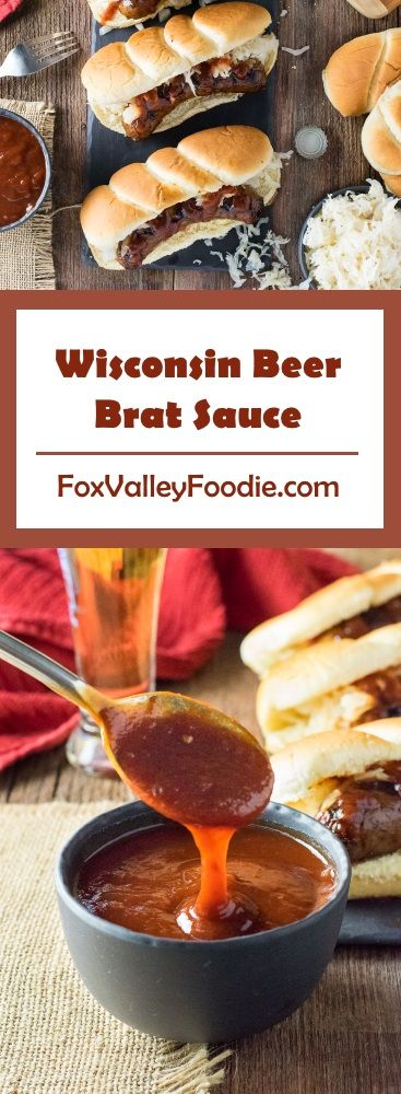 Wisconsin Beer Brat Sauce Recipe