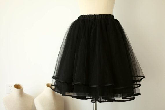 Hey, I found this really awesome Etsy listing at https://www.etsy.com/listing/211973259/black-tulle-skirtsatin-edge-tulle