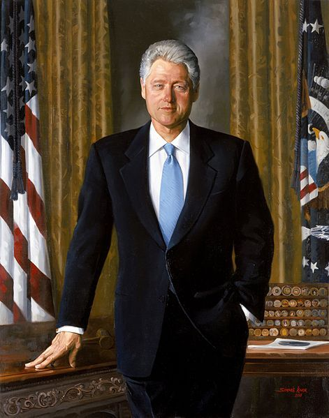 #42 Bill Clinton