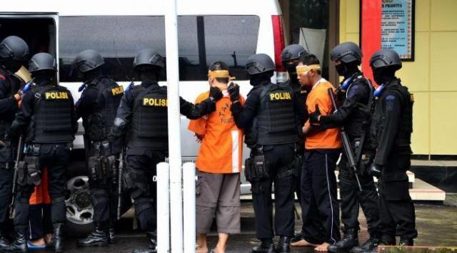 Polri benarkan penangkapan teroris di Tangerang