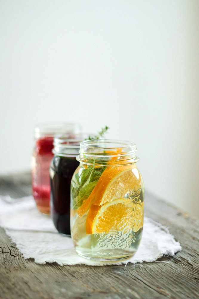 Die Glücklichmacherei: Spice Up Your Drinking Habits 〖Infused Water〗