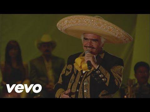 Vicente Fernández - Por un Amor (En Vivo) - YouTube