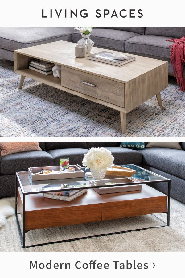 Sleek Modern Coffee Tables Add Subtle Sophistication To Any