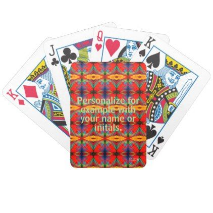 Personalized Deck of Cards #28 - diy cyo customize gift idea