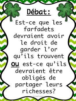 Débat - La Saint-Patrick