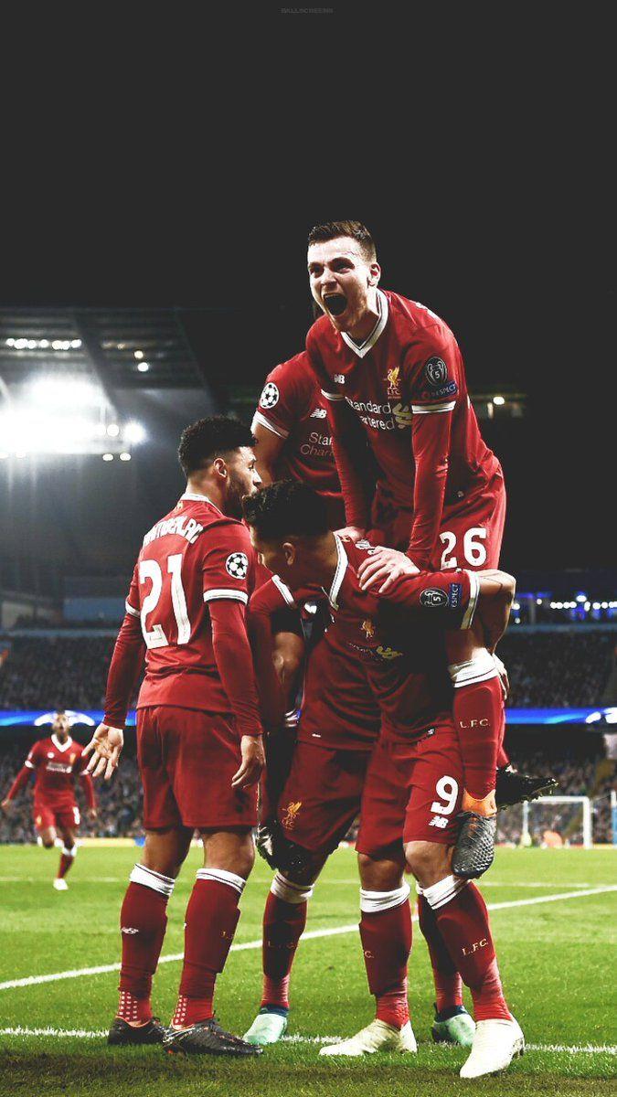 Champions League Liverpool V Barcelona Framed Match Print. Liverpool FC