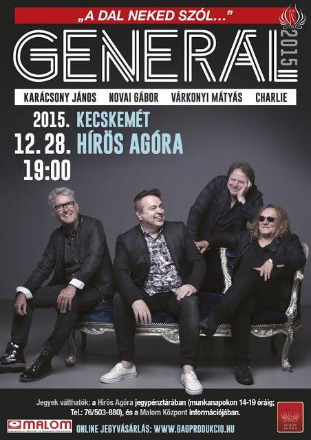 Plakat104.hu: Generál koncert Kecskeméten