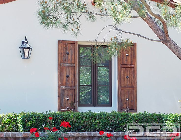 17 best ideas about exterior wood shutters on pinterest