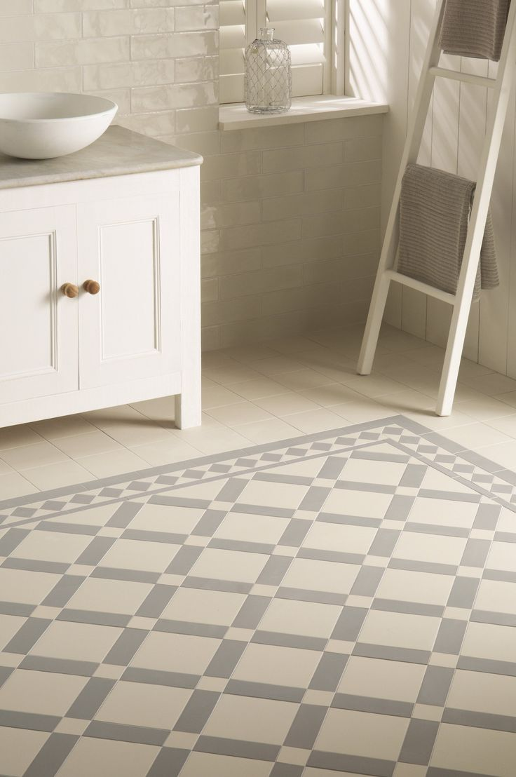 Victorian style bathroom floor tiles victorian style bathroom floor tiles original style falkirk pattern in dover white and grey with download dailygadgetfo Images