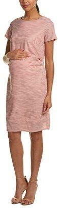 $31.99 | Pink Blush Pinkblush Maternity Ruched Shift Dress | maternity fashion | maternity clothes | maternity dress | pink maternity dresses | #ad