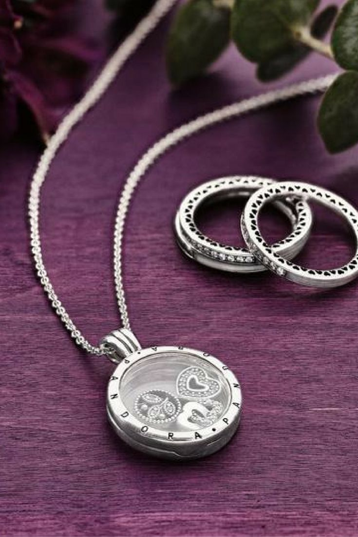 To preserve their beauty, the glass faces of the PANDORA Floating Lockets are made from sapphire crystal which makes them naturally scratch resistant. #PANDORATexas #PANDORANecklace