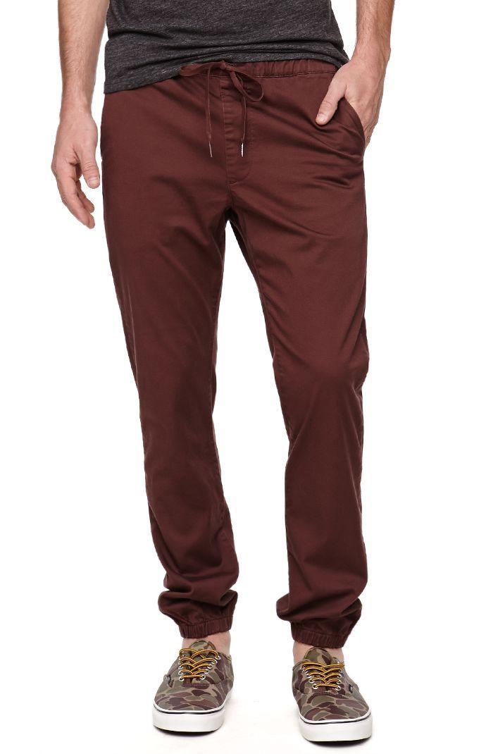 Skinny Chino Jogger Pants.