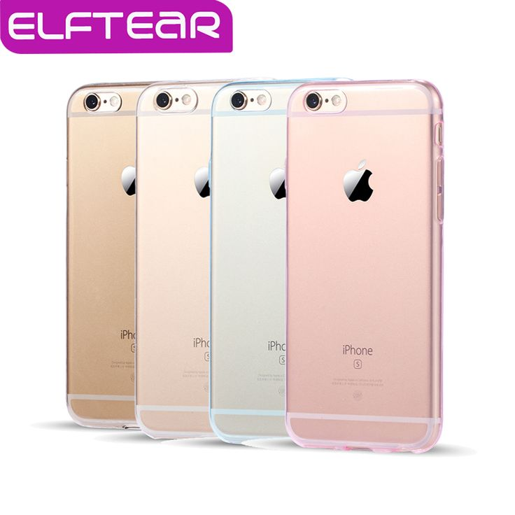 4 Colors Transparent Clear Case For IPhone 7 Plus 6 6s