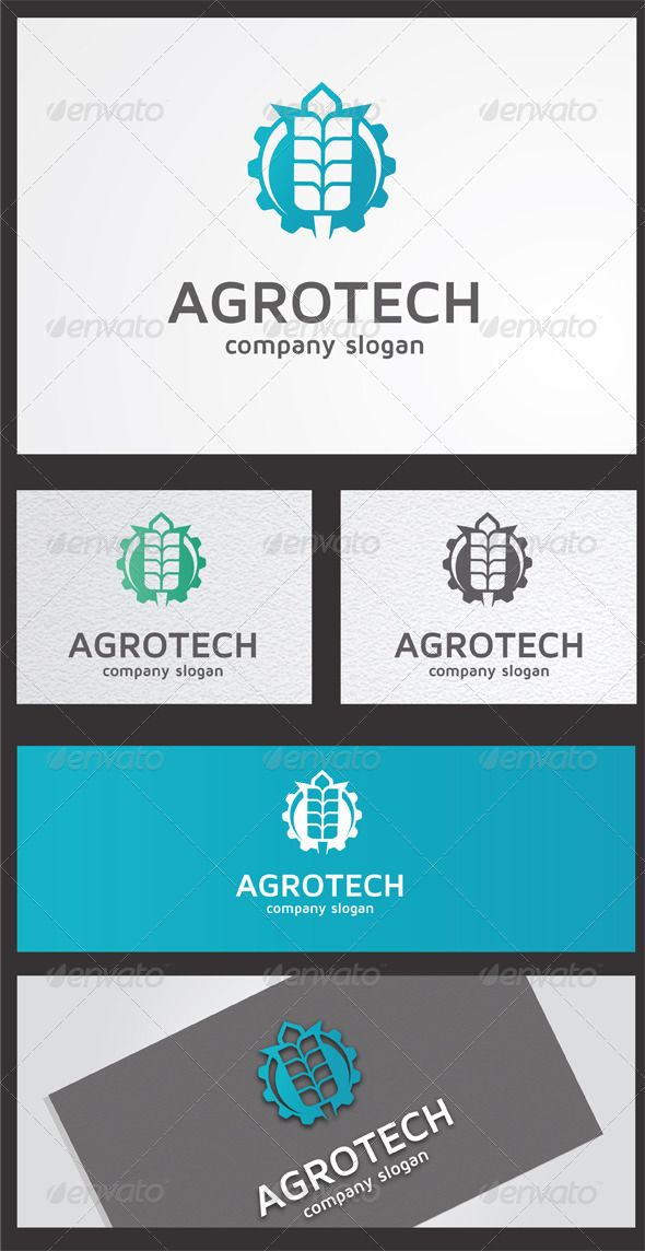 Agrotech  - Abstract Logo Templates