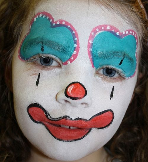17 images about face painting more on pinterest face for Face painting clowns for birthday parties