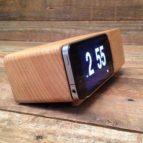 iPhone Alarm Clock Dock -at TROHV | $42.50