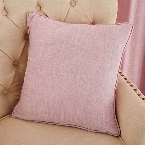 Vermont Pink Cushion Dunelm Pink Eyelet Curtains Pink