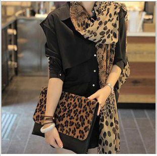 Free shipping S42women's scarf  leopard shawls scarfs ladies autumn fashion 2013 new wrap leopard beach pashmina winter headband $2.99
