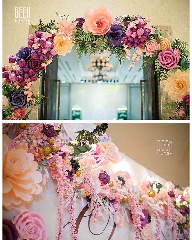 Lovely from every details  #backdrop #weddingplanner #weddingstyle #weddingdecor…