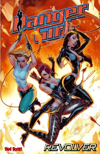 Comic-Review: Danger Girl: Revolver