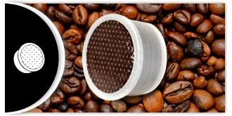 Capsula Espresso Point. Miscela Classica Click Cafè. Qualità Superiore.