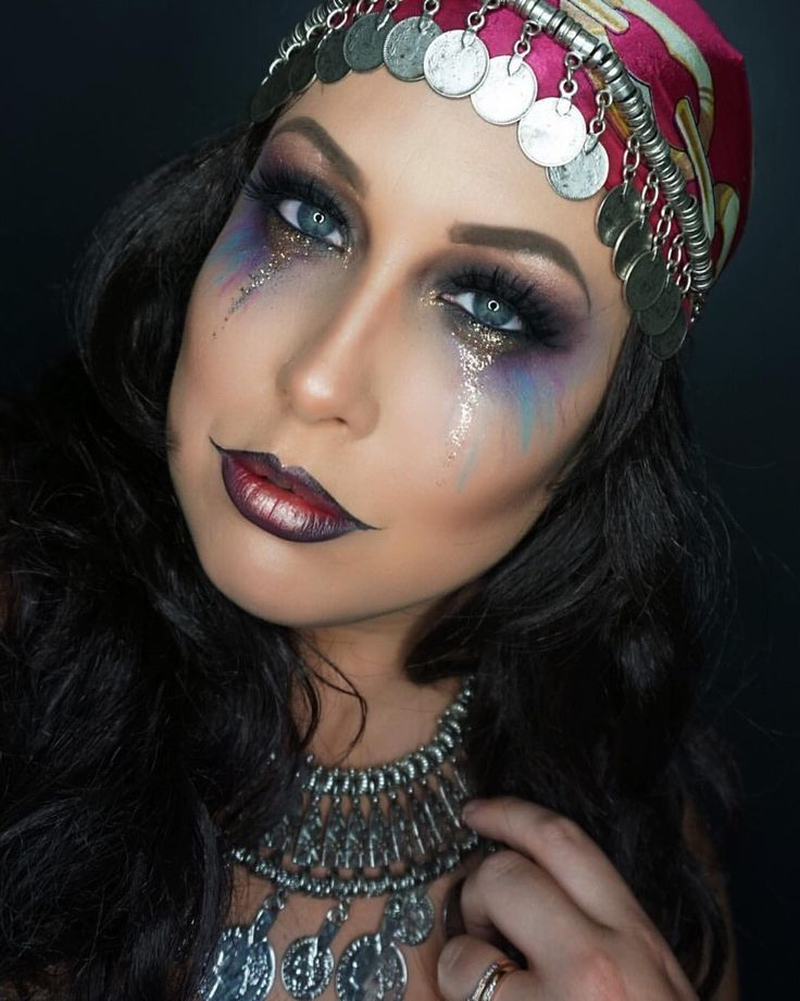 Gypsy Halloween Costume  Gypsy makeup