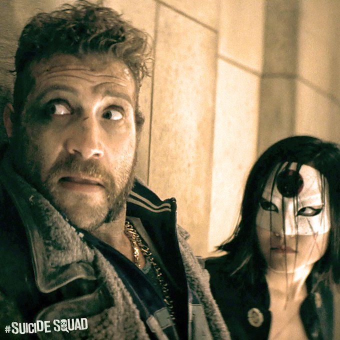 Suicide Squad Katana and Captain Boomerang