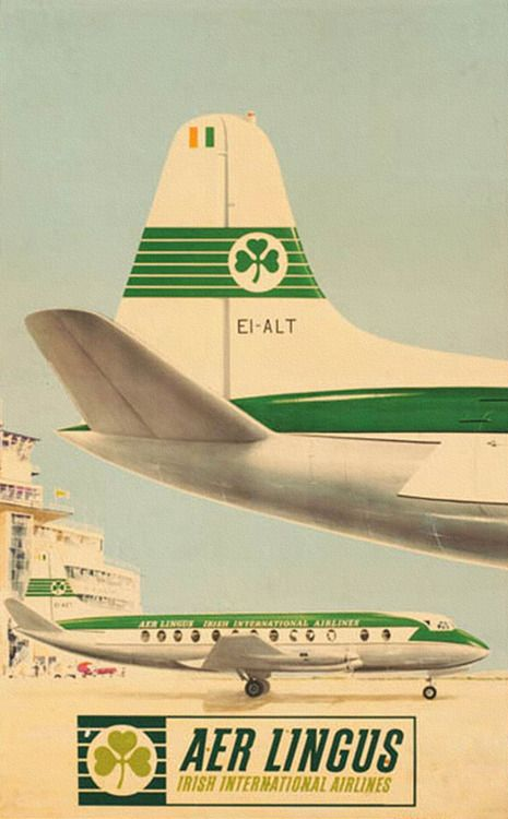 Aer Lingus, Irish International Airlines, remember flying from Speke airport